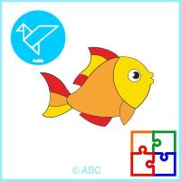hra skladačka ryba