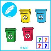 hra triedenie odpadu