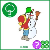 hra staviame snehuliaka - časová postupnosť