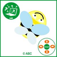 ABC robot - hra včielka