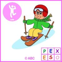pexeso zimné športy
