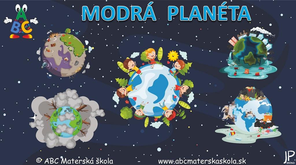 Environmentálna výchova - Modrá planéta - Vzdelávacie video
