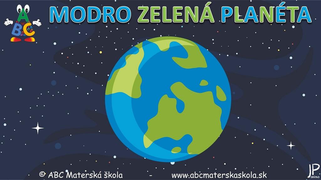 Environmentálna výchova - Modrozelená planéta - Video ukážka