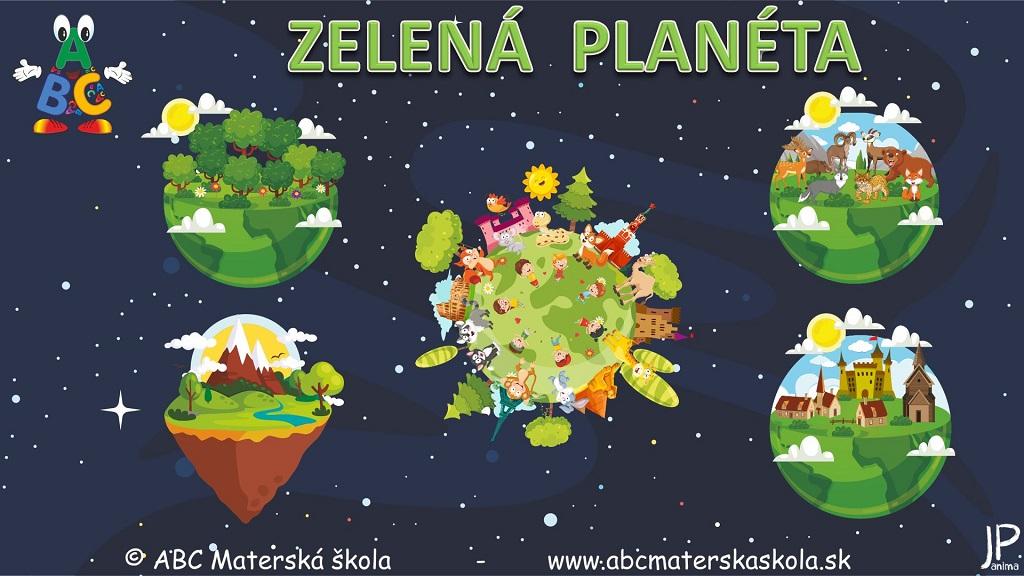 Environmentálna výchova - Zelená planéta - Vzdelávacie video