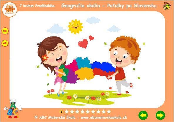 Geografia okolia - Na potulkách po Slovensku