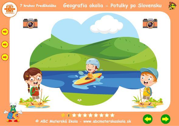 Geografia okolia - rieka