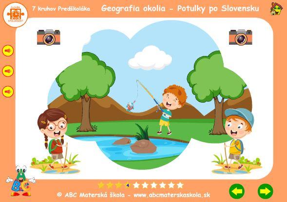 Geografia okolia - rybník