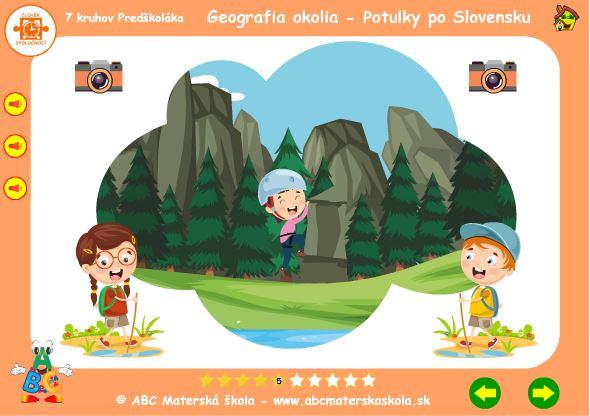 Geografia okolia - skaly