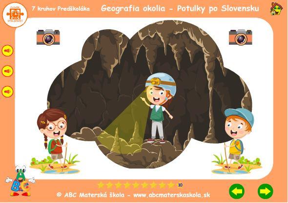 Geografia okolia - jaskyňa