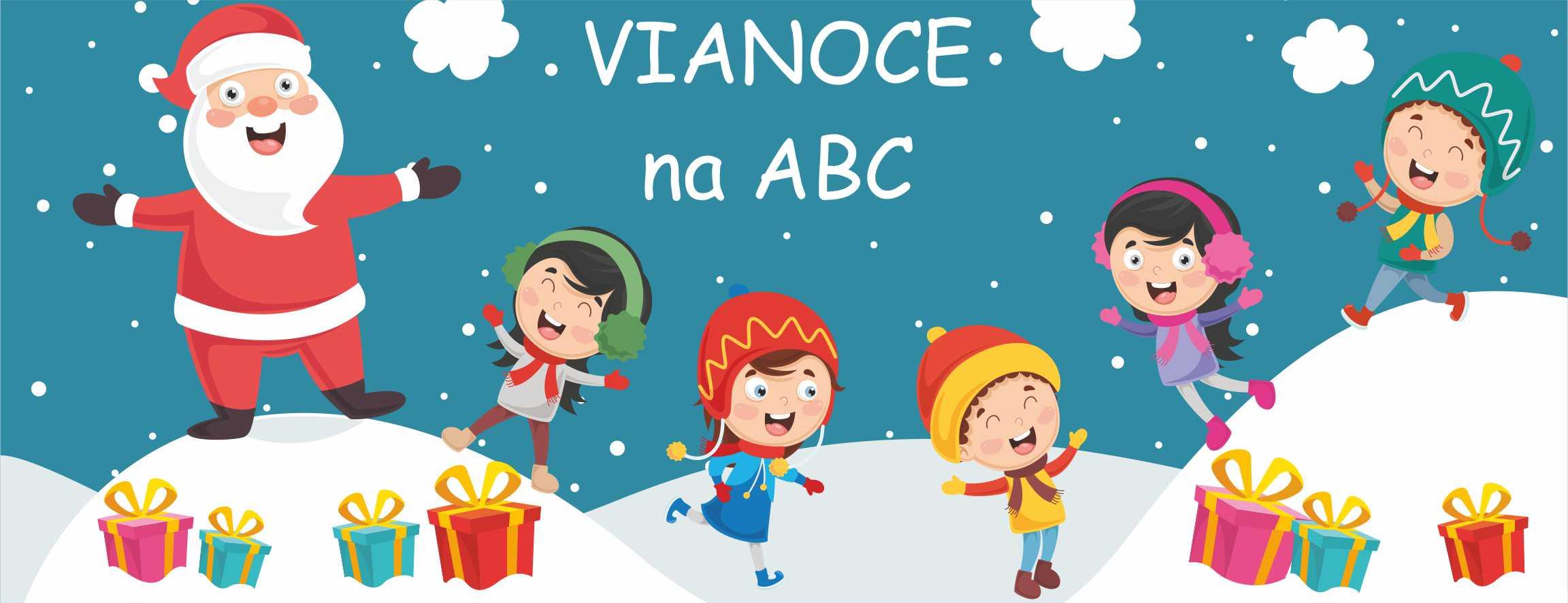 ZIMA na ABC - Mikuláš, Vianoce, Zimné mesiace - Hry, pracovné zošity, úlohy a cvičenia pre detičky