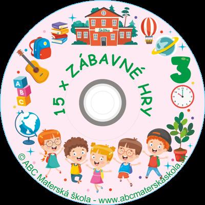 CD ZÁBAVNÉ HRY 3