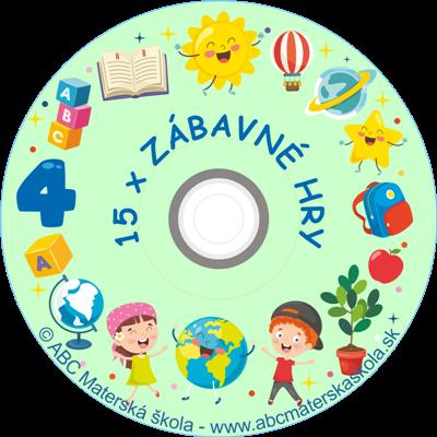 CD ZÁBAVNÉ HRY 4