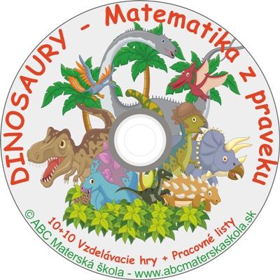 CD HRY DINOSAURY - Matematika z praveku