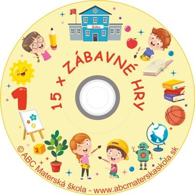 CD ZÁBAVNÉ HRY 1