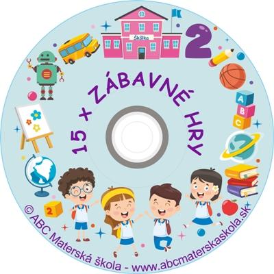 CD ZÁBAVNÉ HRY 2