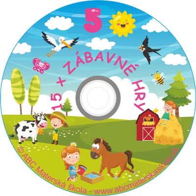 CD ZÁBAVNÉ HRY 5