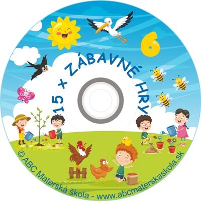 CD ZÁBAVNÉ HRY 6