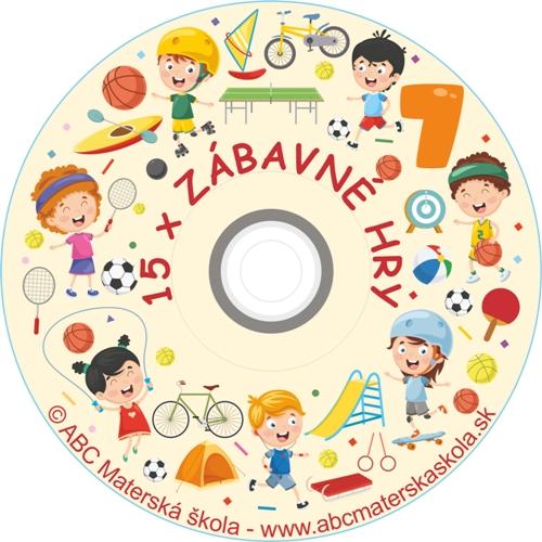 CD ZÁBAVNÉ HRY 7