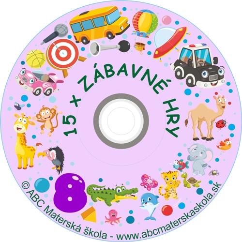 CD ZÁBAVNÉ HRY 8