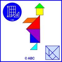 tangram panáčik