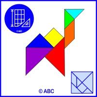 tangram ťava