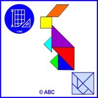 tangram zajac