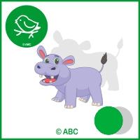 exotické zvieratá 3 - hra tiene