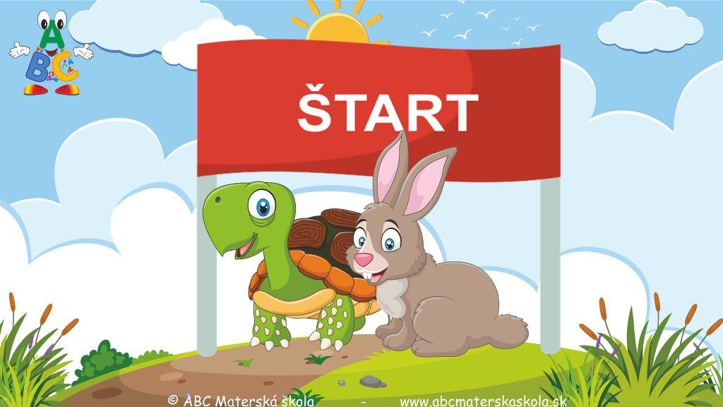 bájky, video bájky, bájky s ponaučením, zajac a korytnačka