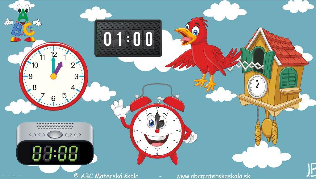 hodiny, spoločnosť, orientácia v čase