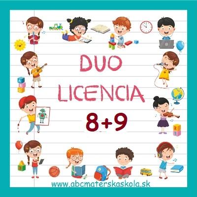 DUO LICENCIA 8+9 + BONUS