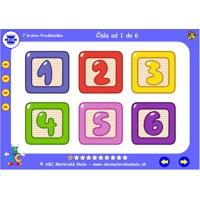Matematika pre najmenších - Hravé čísla od 1 do 6 - Súbor 10 hier + pracovný zošit